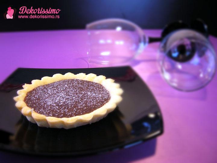 Cokoladni mini tart 1