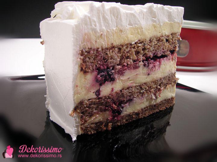 Dekorissimo torta sa sumskim vocem 1