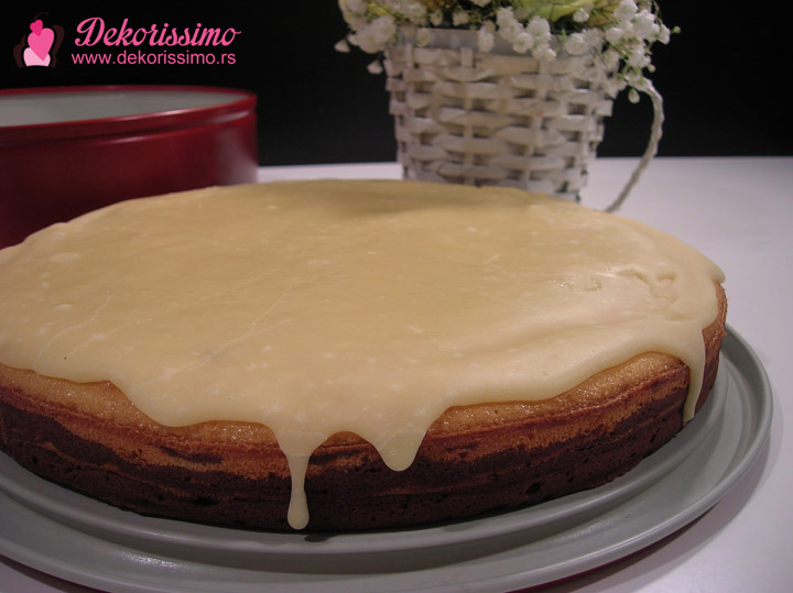 Dekorissimo kolač sa ukusom čokolade i pomorandže 02
