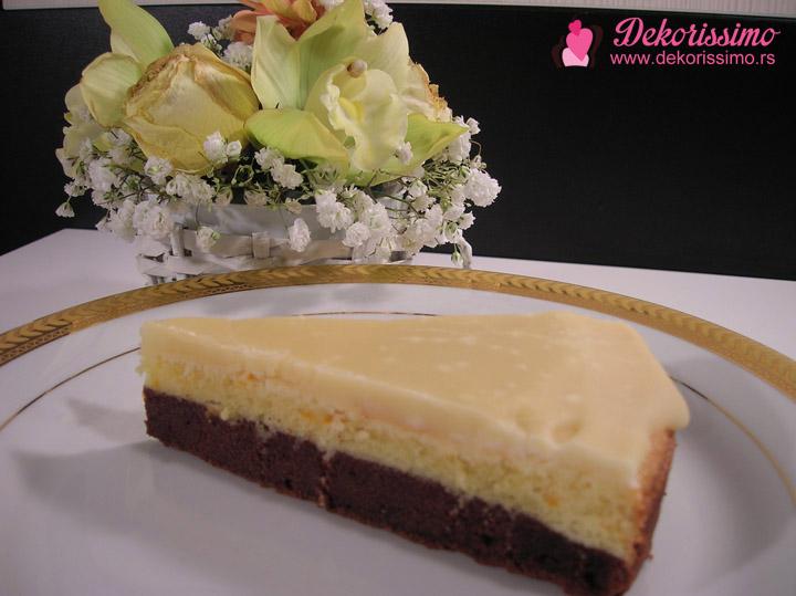 Dekorissimo kolač sa ukusom čokolade i pomorandže 04