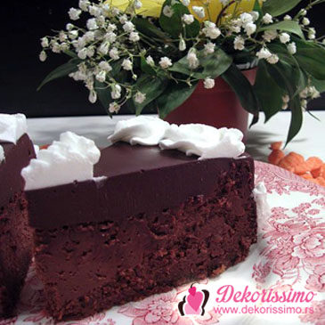 Čokoladni čizkejk (choco cheesecake)