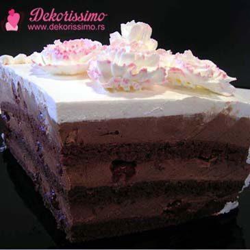 Čoko torta sa višnjama