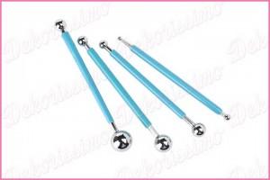 K2018 - Alat sa metalnim kuglicama za modeliranje cvetova1