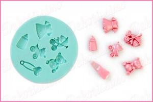 K4005 - Modla silikonska baby set