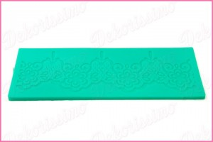 K4575 - Silikonska modla za sugarveil
