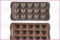 K6015 - Silikonska modla za praline srca