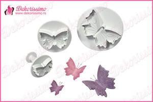 Modle sa izbacivačem veći leptiri, set 3kom - K1300