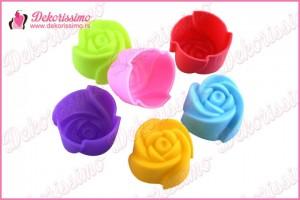 Silikonska modla za mafin ruža - K7110