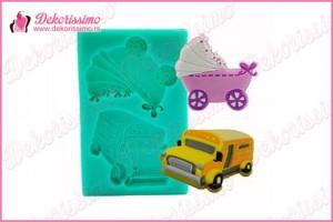 Modla autobus i kolica - K4250
