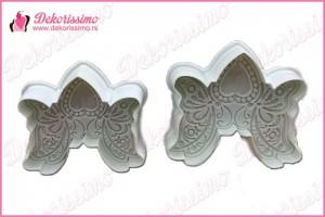 Modle sa izbacivacem leptir srce, set 2kom - K1451