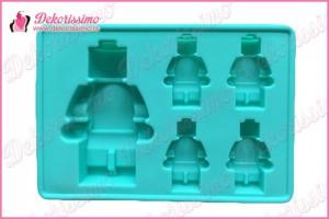Silikonska modla 5 figurica lego kocki - K4215