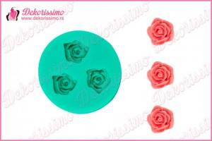 Silikonska modla mini ruže - K4011