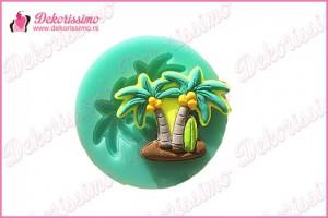 Silikonska modla palme - K4301 a