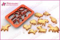 Sekač modla za testo i kolače domaće životinje - K8403