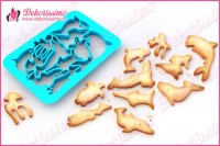 Sekač modla za testo i kolače morske životinje - K8401