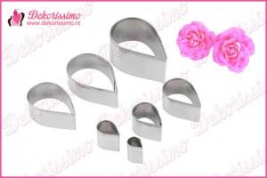 Metalni sekači ruža, set 7 kom – K8262