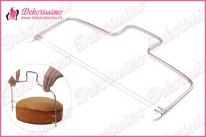 Sekač za testo sa 2 žice za tortu (patišpanj) – K8112