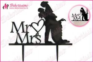 Toper za torte Mr&Mrs - K8236
