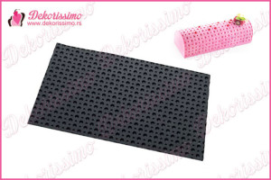 Silikonska modla tačkice tekstura -K8208