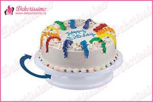 Rotirajuće postolje za ukrašavanje torti - K7301a