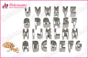 Sekači slova abecede, set 26kom – K8235
