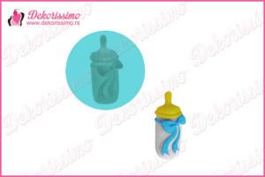 Silikonska modla bebi flašica - K8413