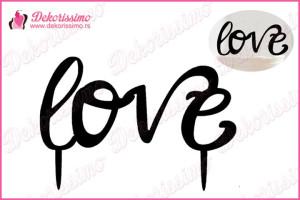 Toper za torte Love – K8256